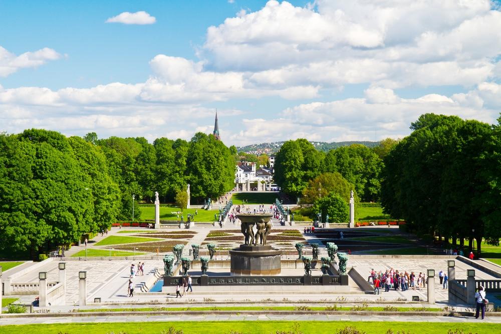 Bezoek het beeldenpark in Oslo