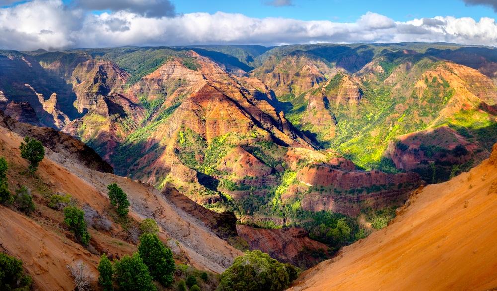 Waimea Canyon op Kauai
