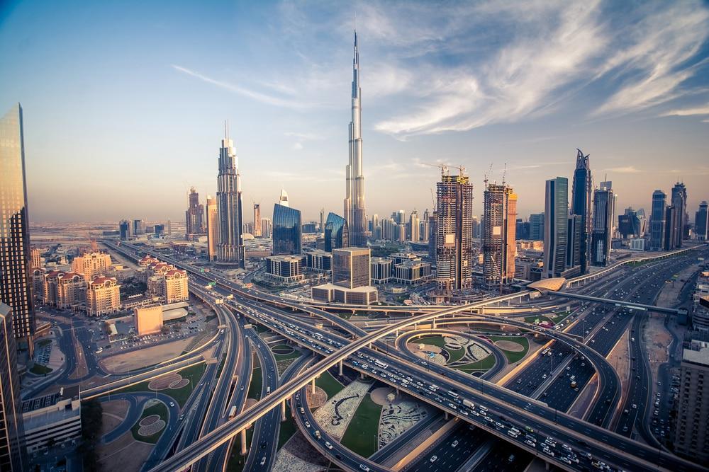 Het grootste gebouw ter wereld, de Burj Khalifa