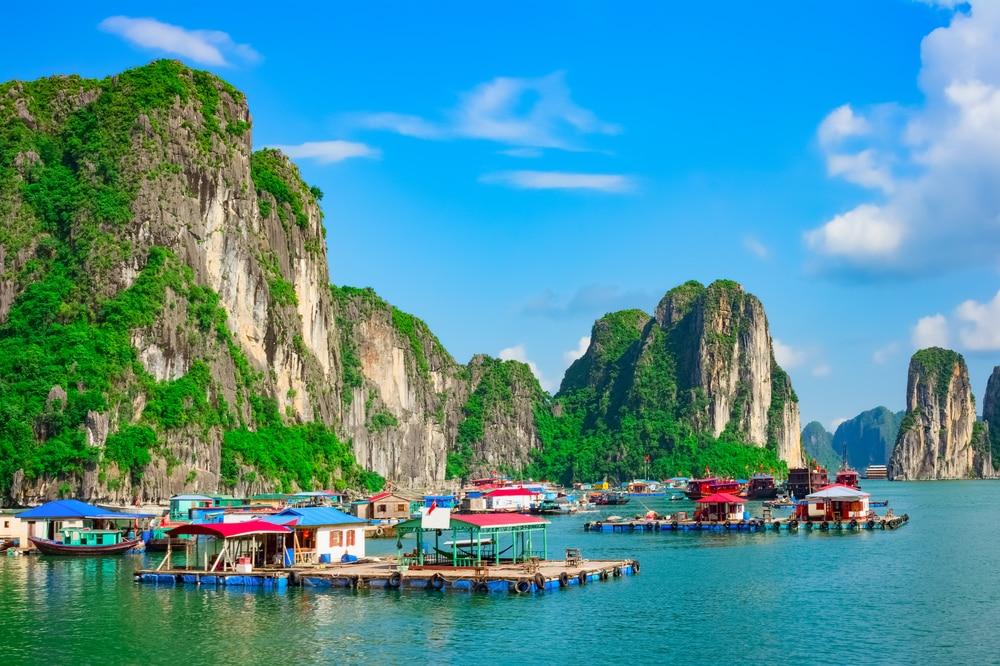 De drijvende dorpjes op Ha Long Bay