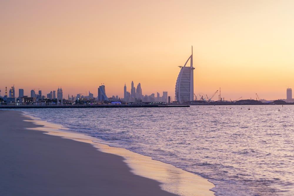 De prachtige stad Dubai