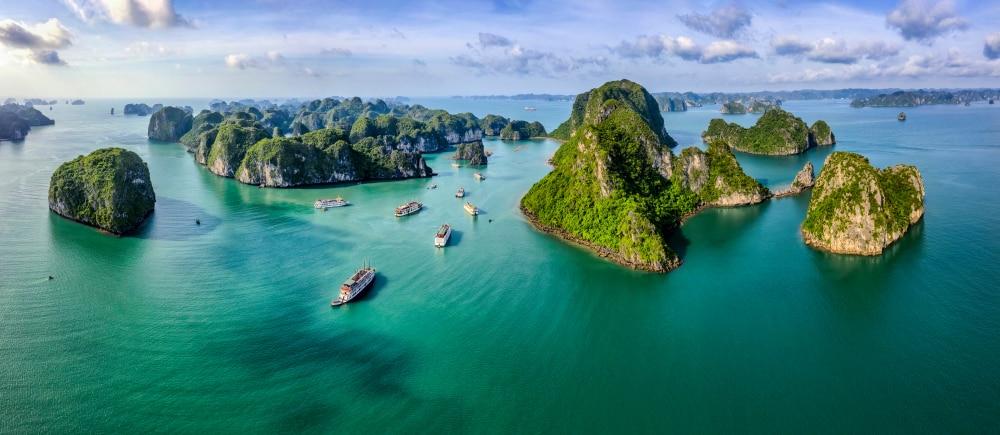 Het natuurfenomeen Ha Long Bay