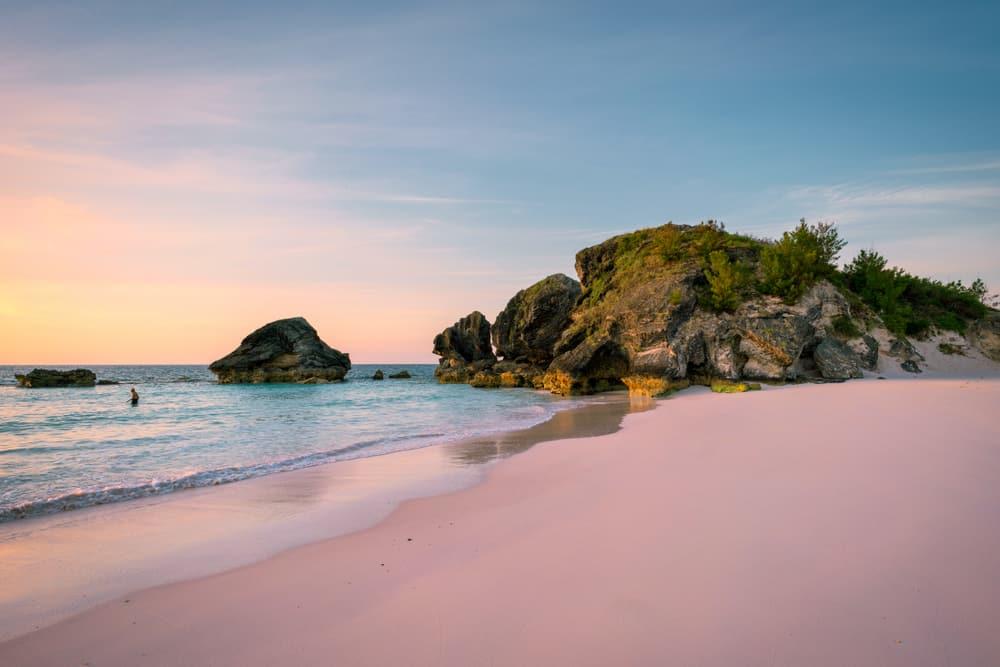 Het mooiste strand van Bermuda