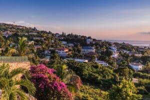 De hoofdstad van Jamaica