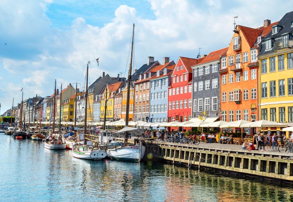 De prachtige stad Kopenhagen