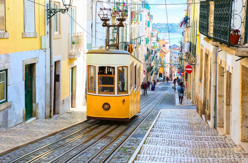 De beroemde metrolijn van Lissabon