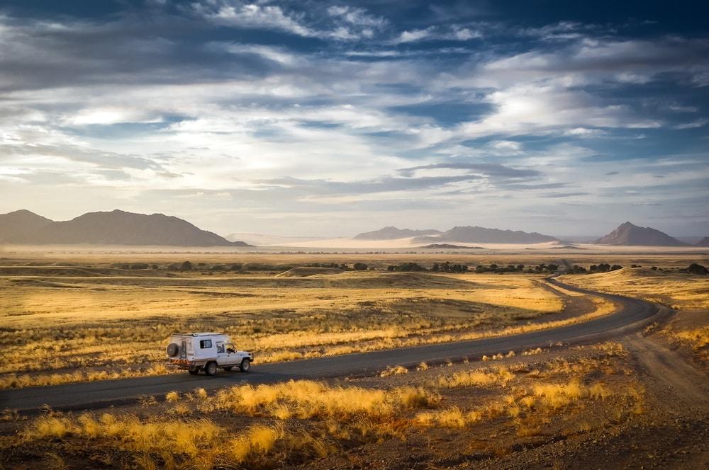 Maak een rondreis door het stille Namibië