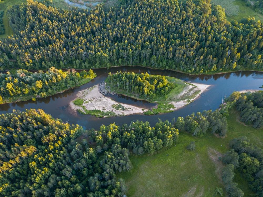 Het grootste nationale park van Letland