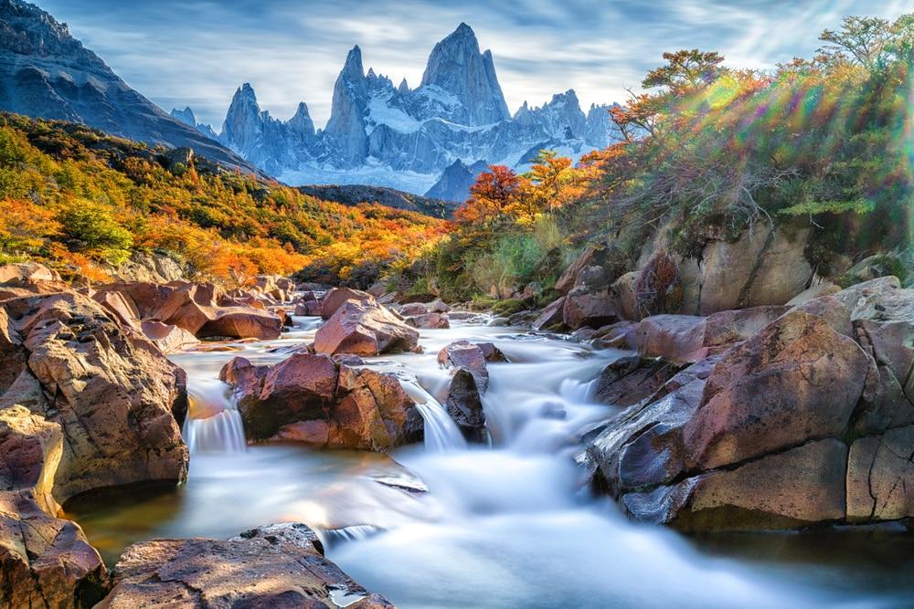 Het prachtige Patagonië in Zuid-Amerika