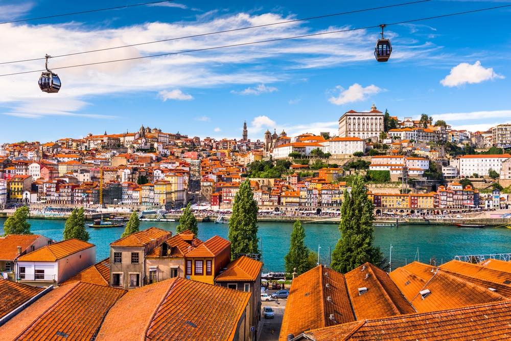 De kleurrijke stad Porto