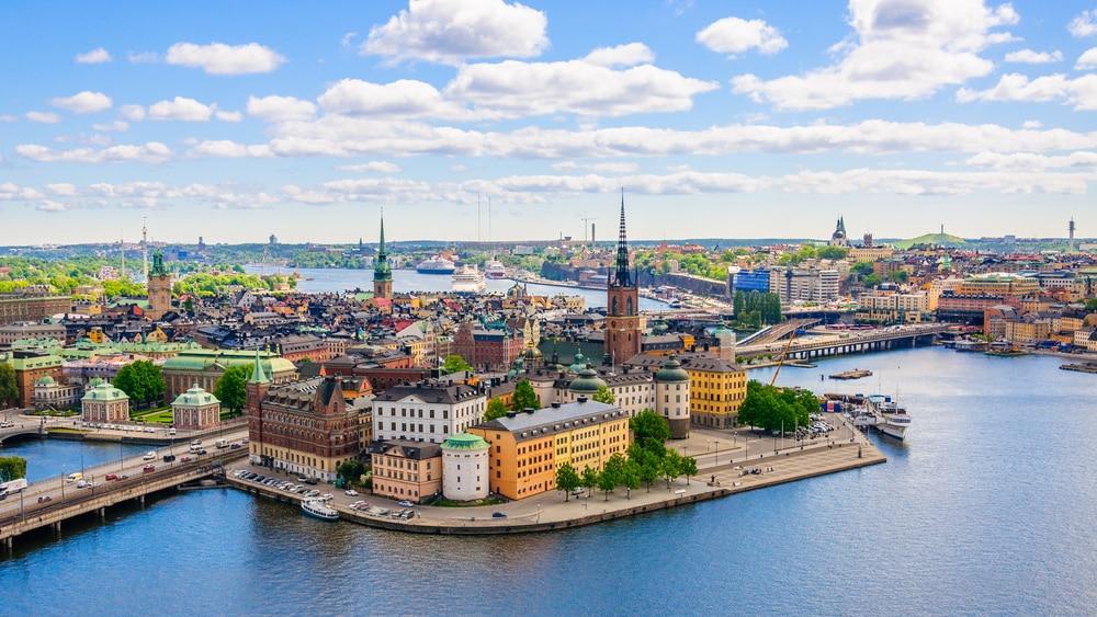 De mooie stad Stockholm