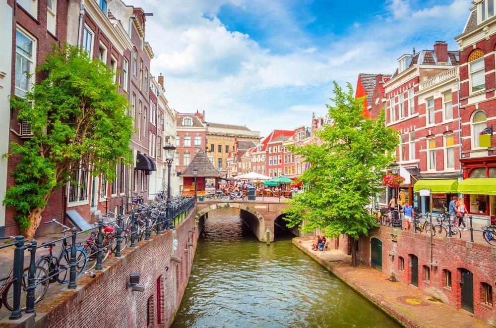 De prachtige stad Utrecht