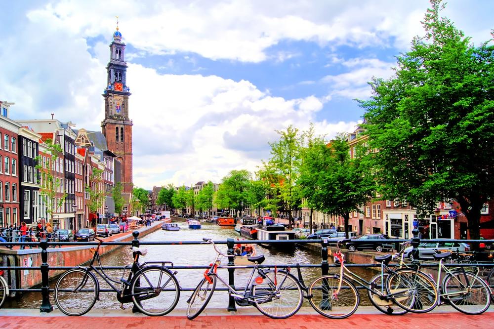 Struin door de hoofdstad van Nederland