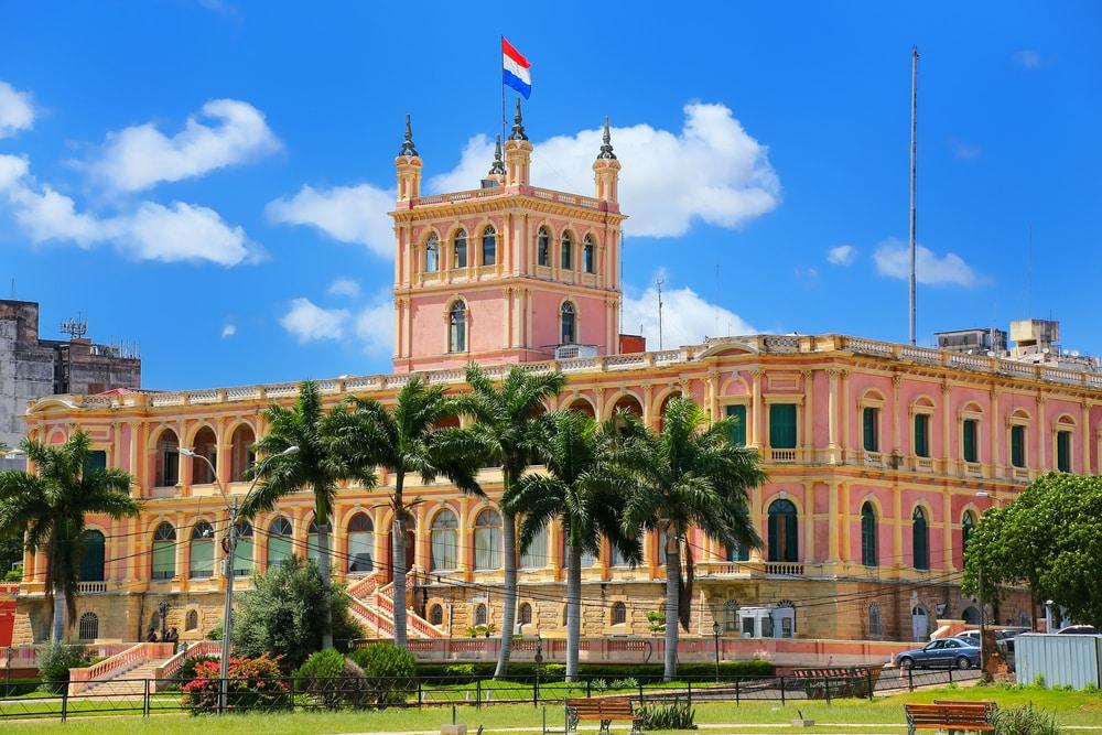 Bezoek de hoofdstad Asuncion