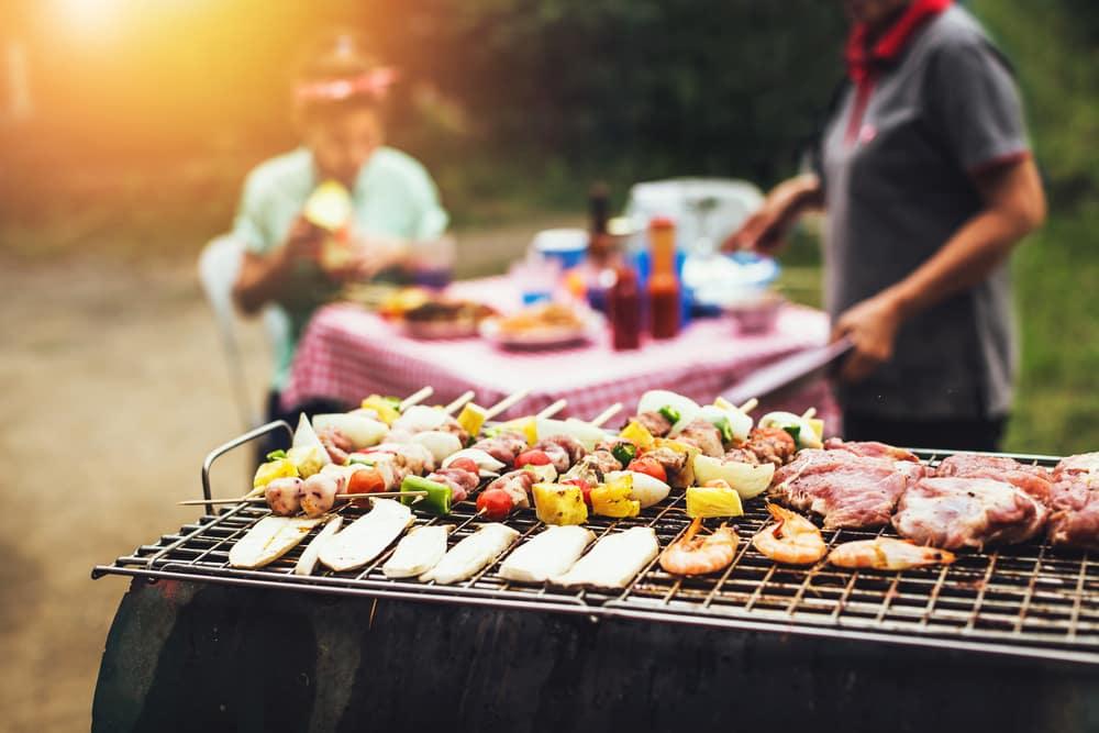 Geniet thuis van een uitgebreide barbecue met visgerechten