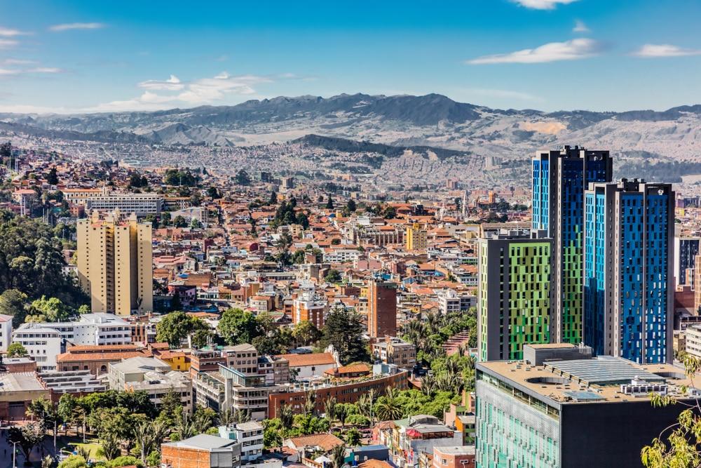 Begin je rondreis van Colombia in Botoga