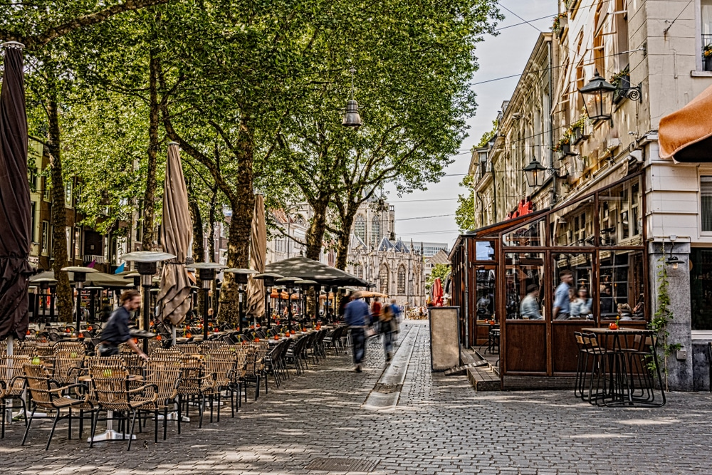 De knusse stad Breda