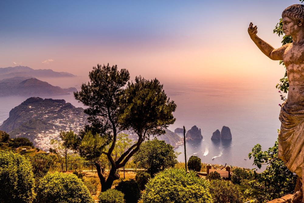 Het adembenemende Capri