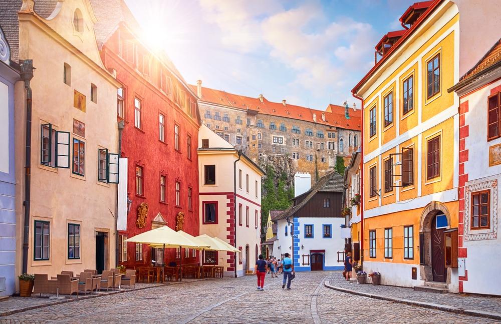 Bezoek deze knusse stad in Tsjechie