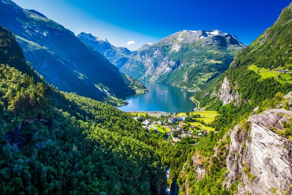 Een van de grootste fjorden van Noorwegen