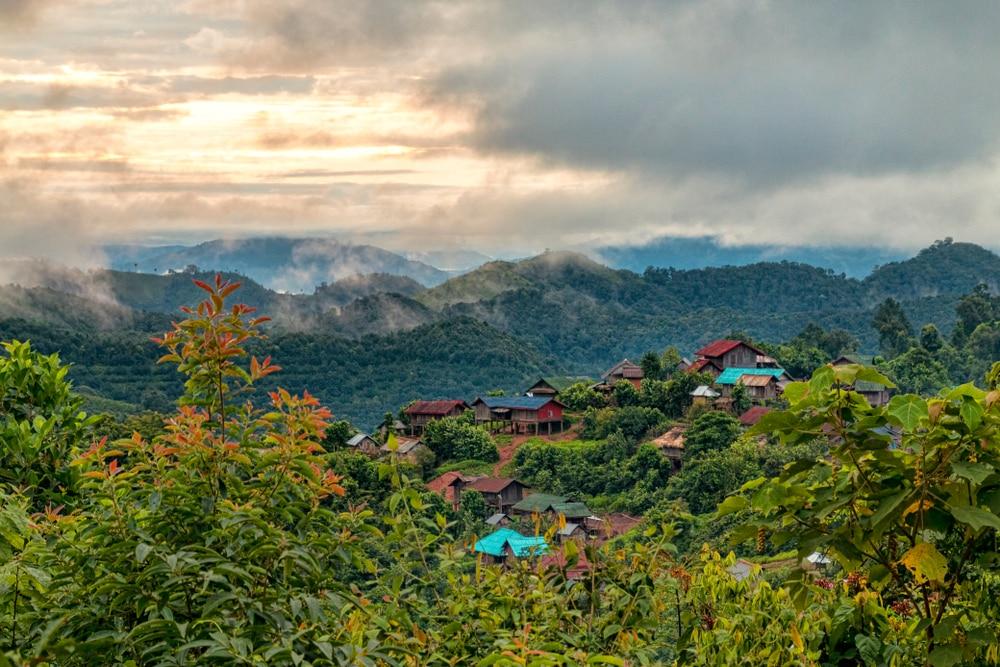 Slaap bij de locals in de jungle van Luang Namtha