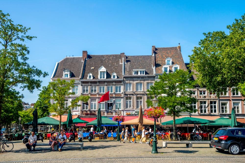 Reis af naar het zuiden van Nederland