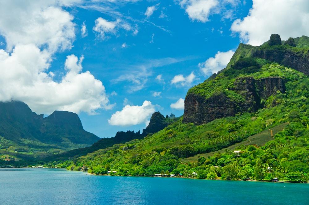 Bezoek het gastvrije eiland Moorea van Frans-Polygonië