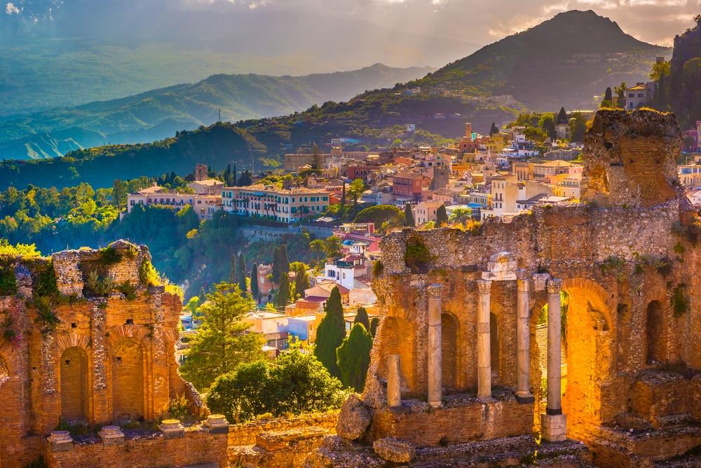 Bezoek het eiland Sicilie