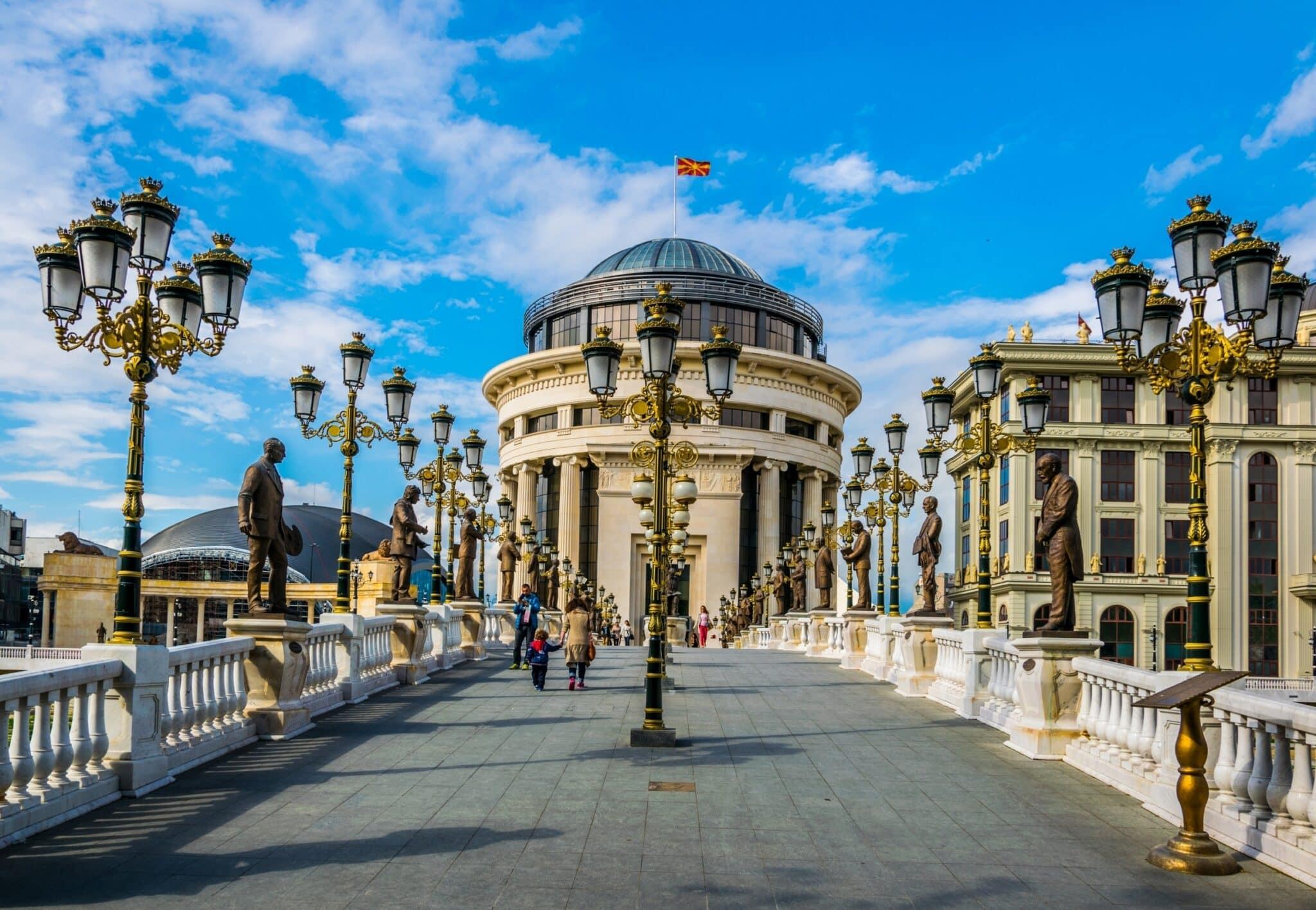 Bezoek de prachtige stad Skopje