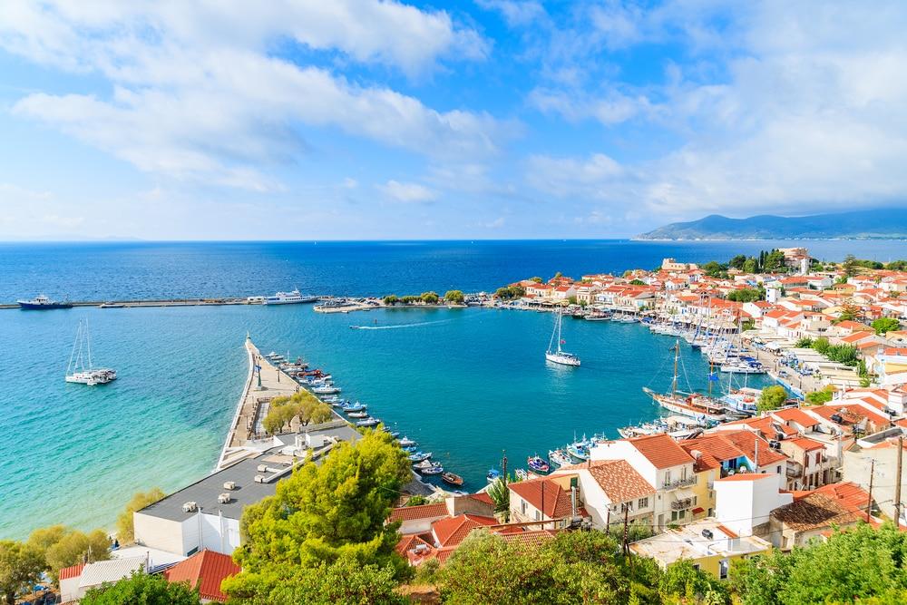 Ga naar het groenste eiland van Griekenland