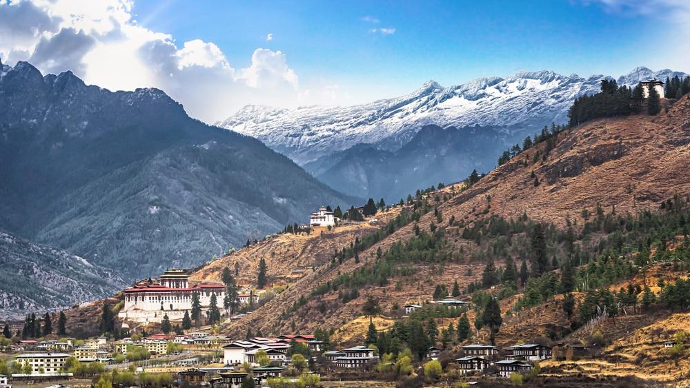 Bezoek de stad Thimphu in Bhutan