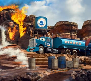 Cars Route 66 Road Trip - Concept Art