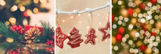 Hoe de wereld Kerstmis viert collage