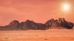 Reizen naar Mars