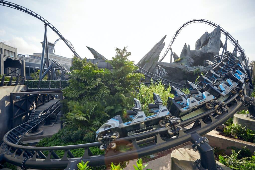 Jurassic World achtbaan