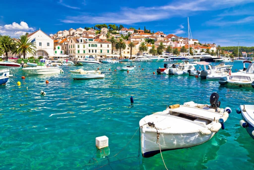 Hvar in Dalmatia, Kroatië