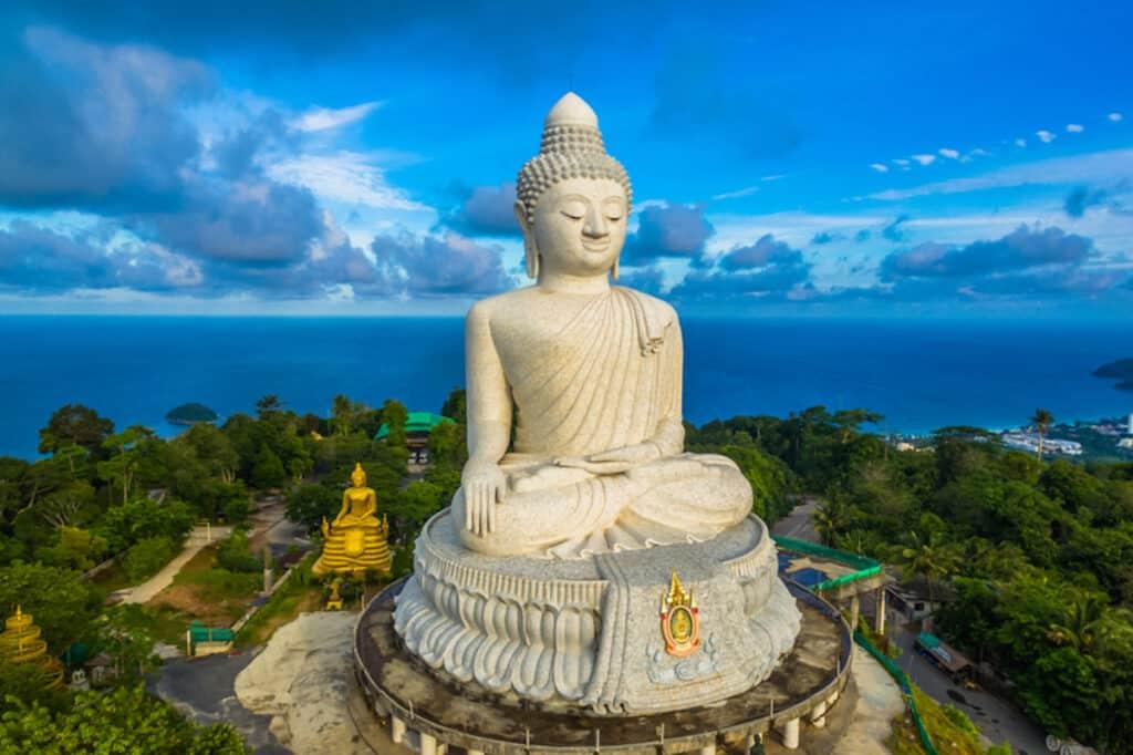 De Big Buddha op Phuket