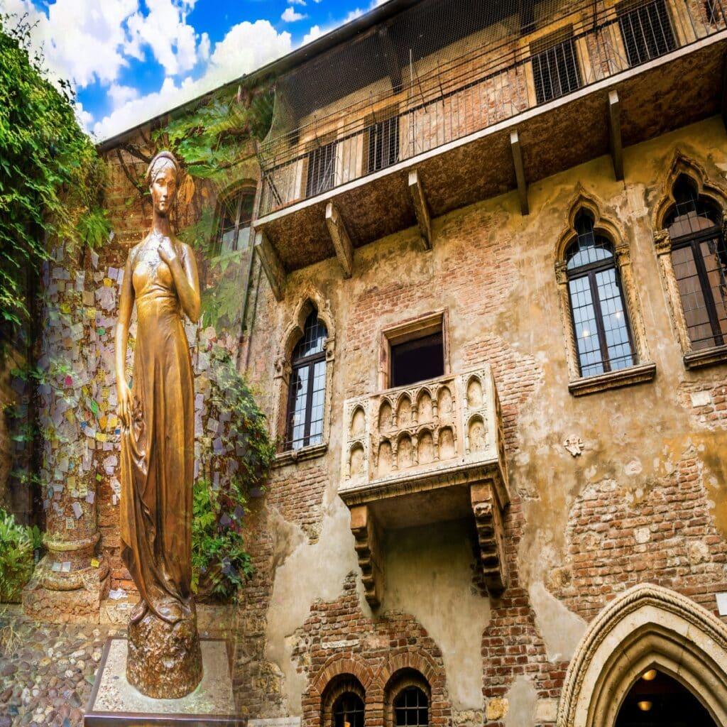 La casa di Giulietta, het huis van Julia in Verona