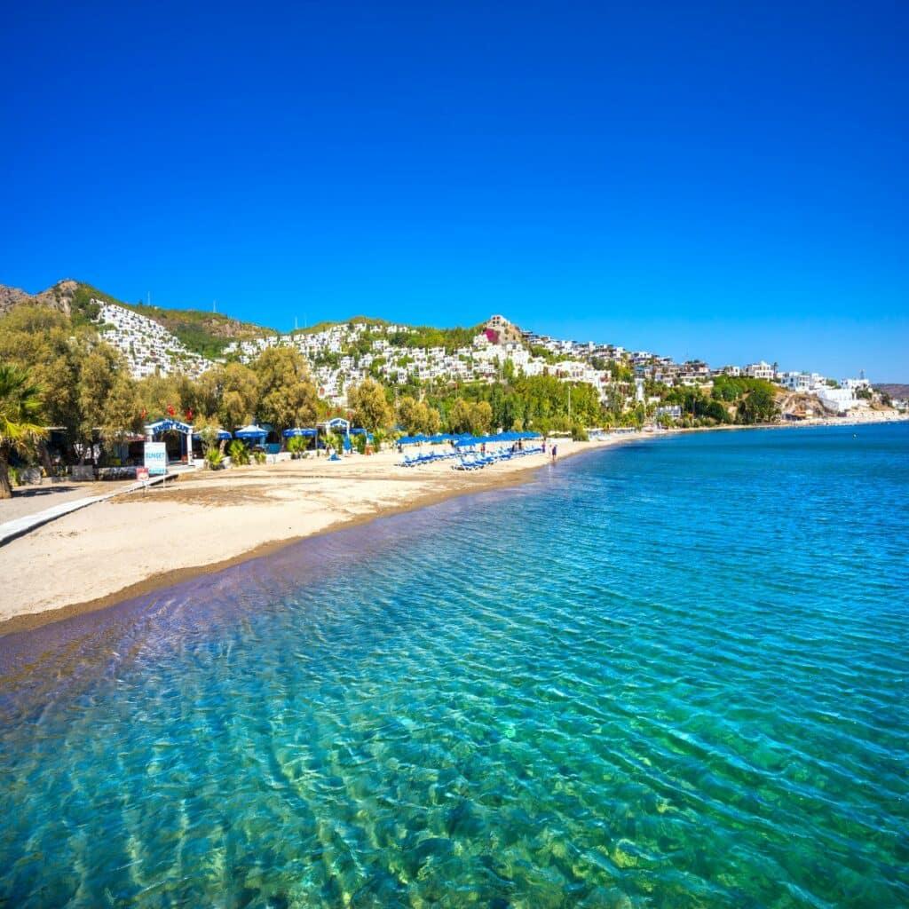 Bitez beach in Bodrum