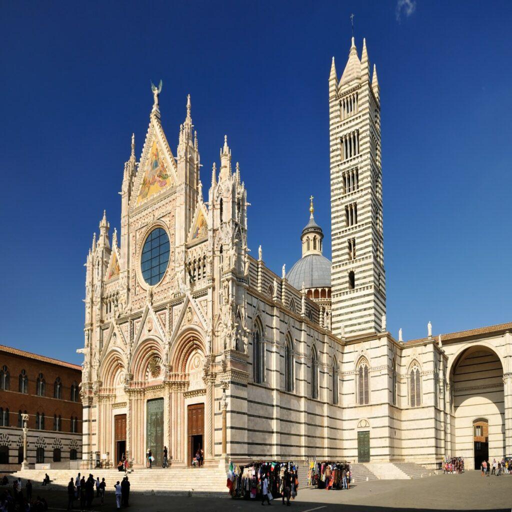 De kathedraal Duomo di Siena in Siena