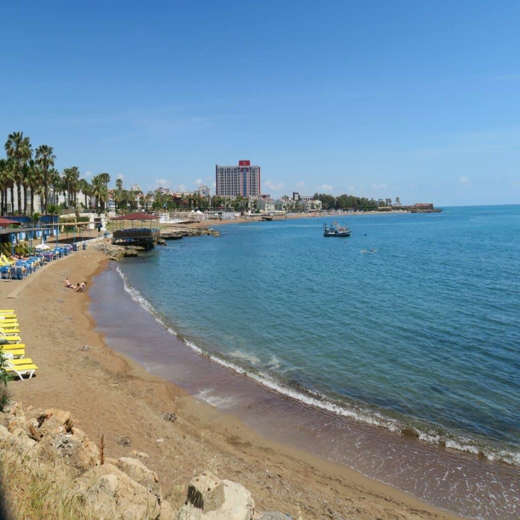 Lara beach in Antalya