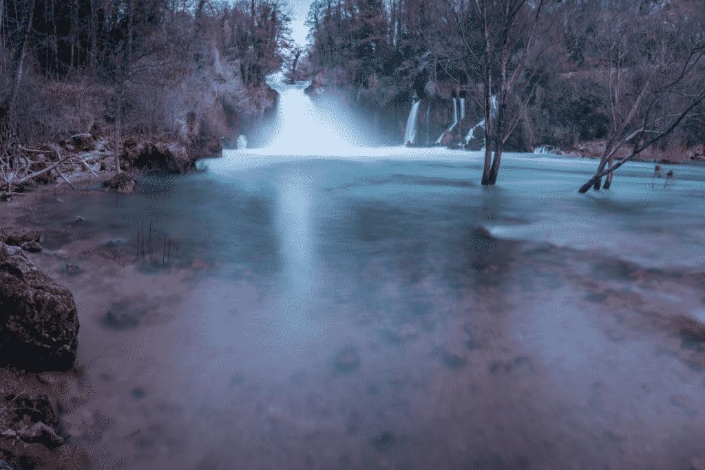 Bilušića buk waterval in Kroatië