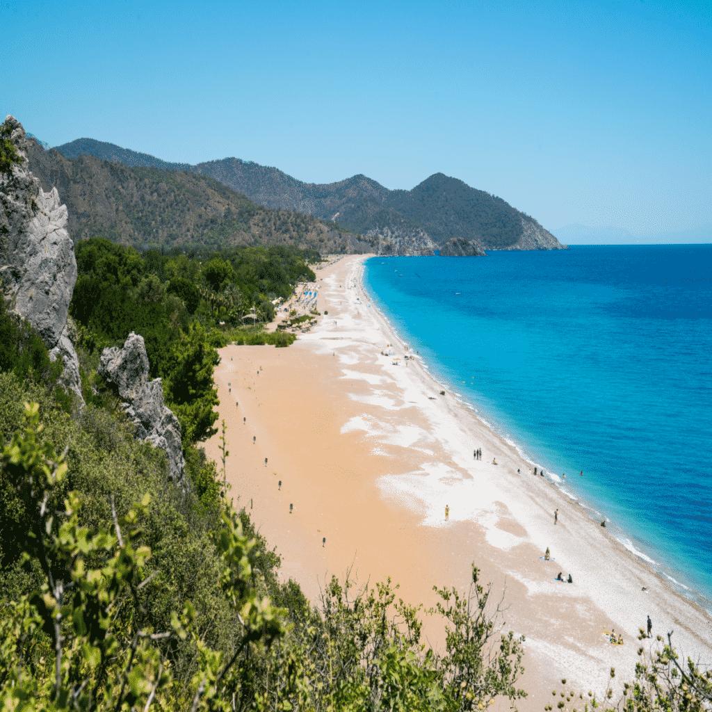 Carali beach in Antalya